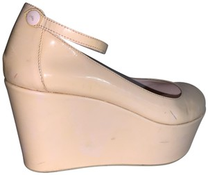 Valentino pale blush pink Platforms
