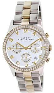 Marc by Marc Jacobs Marc by Marc Jacobs Silver & Gold MBM3197 Stainless Steel Watch