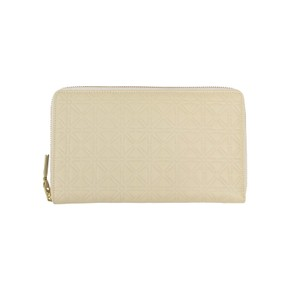 COMME des GARÇONS Leather Star Embossed Travel Organizer Wallet