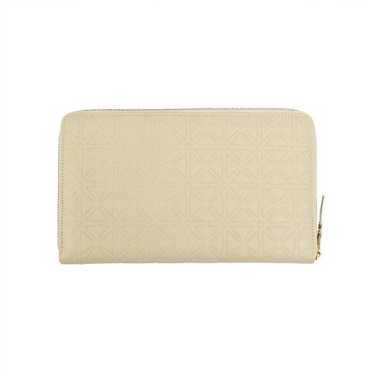 COMME des GARÇONS Leather Star Embossed Travel Organizer Wallet Image 1