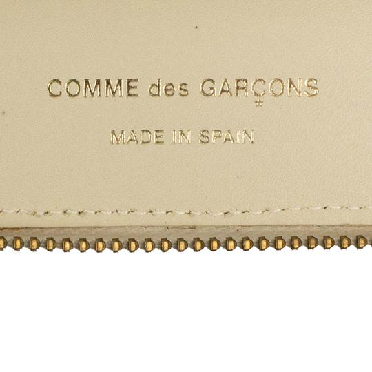COMME des GARÇONS Leather Star Embossed Travel Organizer Wallet Image 6