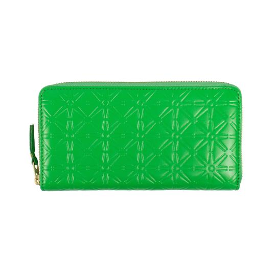 Preload https://img-static.tradesy.com/item/25900458/comme-des-garcons-green-leather-star-embossed-wallet-0-0-540-540.jpg