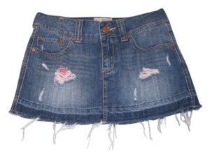 American Rag Mini Skirt Blue