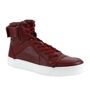 Gucci Strong Red Basketball High-top Sneaker 386738 Shoes