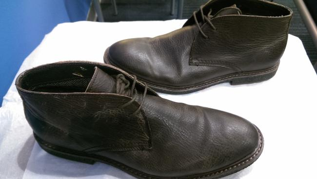 """Item - Brown Leather Men's """"Armond"""" Dress Casual Boot 13 Shoes"""