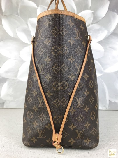Louis Vuitton Monogram Canvas Neverfull Gm Tote in Brown Image 2