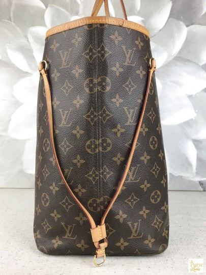 Louis Vuitton Monogram Canvas Neverfull Gm Tote in Brown Image 4