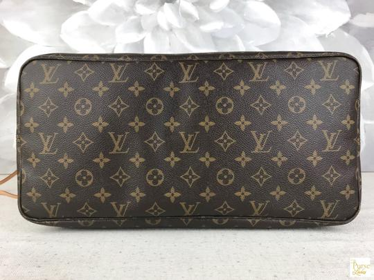 Louis Vuitton Monogram Canvas Neverfull Gm Tote in Brown Image 7