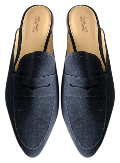 Item - Navy Blue Pw17l Flats Size US 8.5 Regular (M, B)
