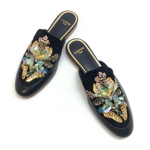 Lanvin Black / Multi Mules