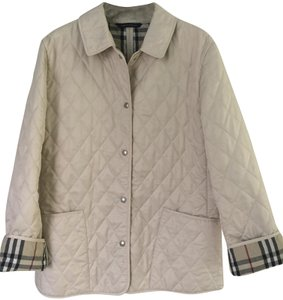 Burberry Quilted Constance Classic Beige Jacket