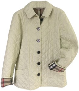 Burberry Quilted Light yellow Jacket