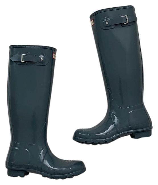 Item - Graphite Boots/Booties Size US 8 Regular (M, B)