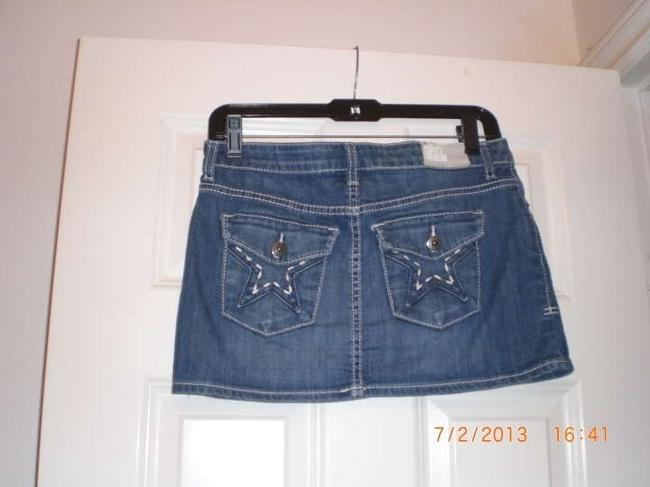 Charlotte Russe Mini Skirt Blue
