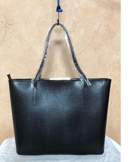 Ted Baker Tote in black pink yellow vivid Image 4