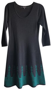 Nine West short dress dark blue and green on Tradesy