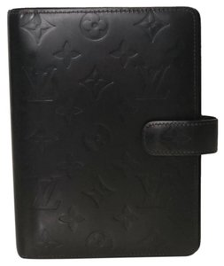 Louis Vuitton Louis Vuitton Monogram Matte Agenda MM in Brown