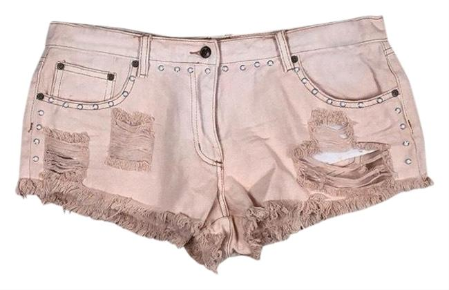 Item - Pink Distressed Studded Shorts Size 8 (M, 29, 30)