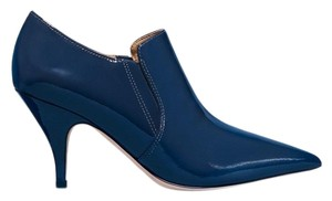 Tory Burch Navy Lee Boots