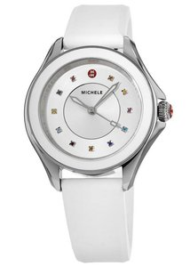 Michele Cape Silicone Stainless Steel MWW27A000007 Watch