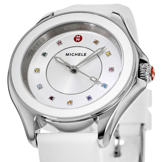 Michele Cape Silicone Stainless Steel MWW27A000007 Watch Image 5