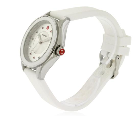 Michele Cape Silicone Stainless Steel MWW27A000007 Watch Image 6