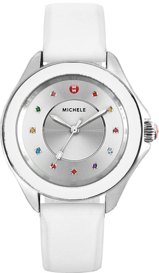 Michele Cape Silicone Stainless Steel MWW27A000007 Watch Image 7