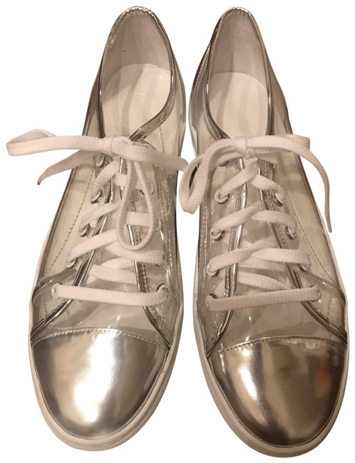 Clear Hena Plastic Sneakers Size US 10 Regular (M, B) Clear Hena Plastic Sneakers Size US 10 Regular (M, B) Image 1