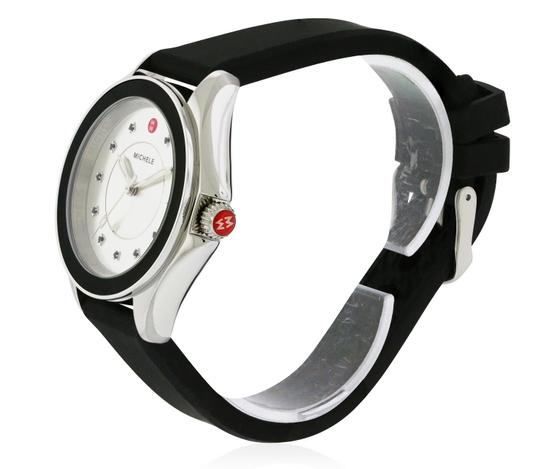 Michele Cape Silicone Stainless Steel MWW27A000012 Watch Image 3