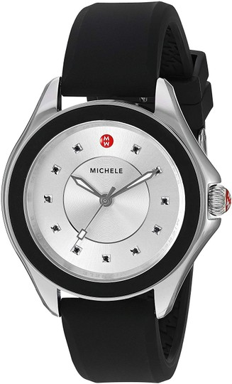 Michele Cape Silicone Stainless Steel MWW27A000012 Watch Image 5