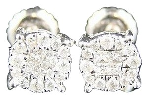 Other Solitaire Diamond Stud Earrings