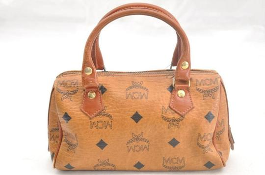 MCM Speedy Joy Boston Liz Anya Satchel in brown Image 10