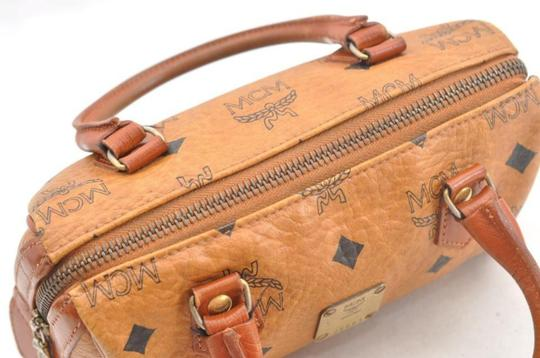 MCM Speedy Joy Boston Liz Anya Satchel in brown Image 4