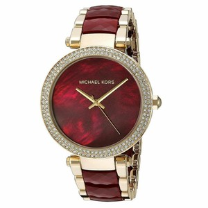 Michael Kors Michael Kors Women's Parker Red Choronograph/Gold 39mm MK6427