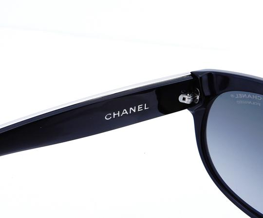 Chanel CH5273-Q c.501/S8 55mm Galuchat Stingray Leather Oversized Polarized Image 10