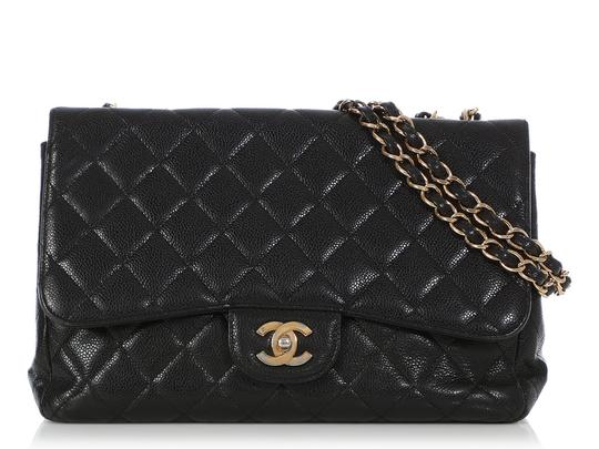 Preload https://img-static.tradesy.com/item/25904061/chanel-single-flap-classic-jumbo-quilted-caviar-black-leather-shoulder-bag-0-0-540-540.jpg