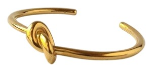 Céline KNOT EXTRA-THIN BRACELET IN BRASS WITH GOLD FINISH