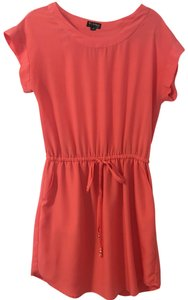 The Webster at Target short dress Coral/Pink on Tradesy