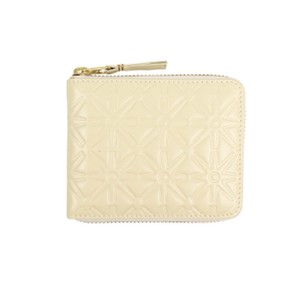 COMME des GARÇONS Leather Stars Embossed Small Wallet