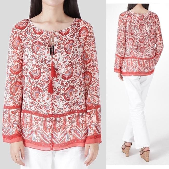Tory Burch Top Red Image 3