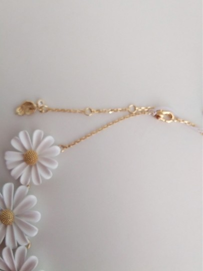 Kate Spade Kate Spade New White Daisy Necklace Image 2