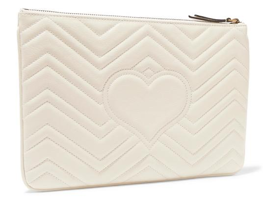 Gucci Pouch Marmont WHITE Clutch Image 2