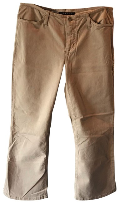 Item - Khaki Tan Stretch Capri/Cropped Jeans Size 12 (L, 32, 33)