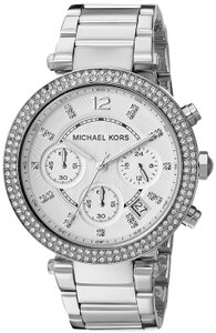 Michael Kors Parker Stainless Steel Chronograph MK5353 Watch