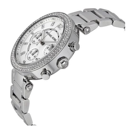 Michael Kors Parker Stainless Steel Chronograph MK5353 Watch Image 2