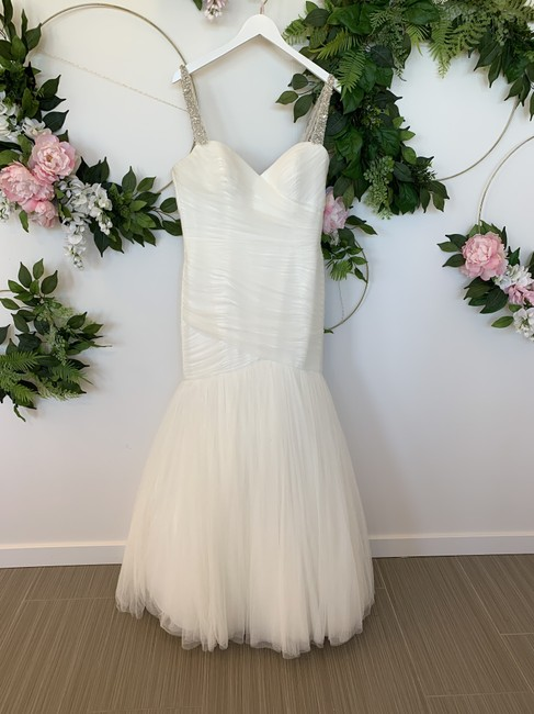 Item - Ivory Tulle Holly Feminine Wedding Dress Size 12 (L)