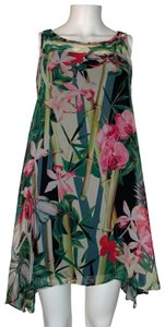 Signature by Robbie Bee short dress Multicolor Polyester on Tradesy