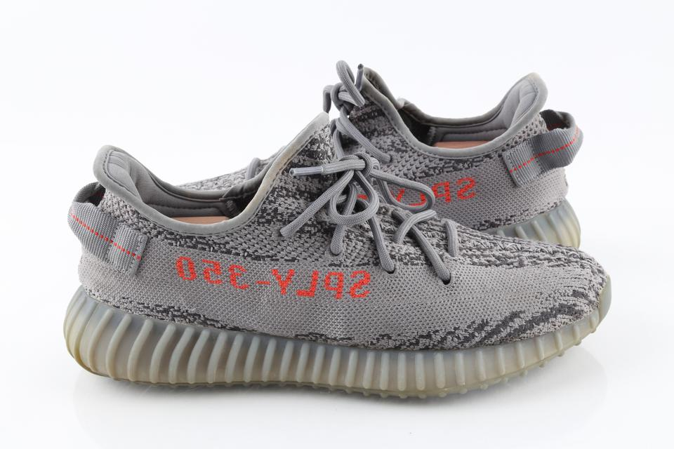 finest selection 93db7 a0aa9 adidas X Yeezy Gray Boost 350 V2 'beluga 2.0 Sneakers Shoes
