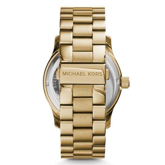 Michael Kors Runway Stainless Steel Pave Crystal Logo MK5706 Watch Image 4