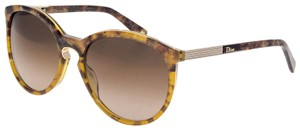 Dior Cat Eye Brown Marble Gold Sunglasses ENTRACTE 1FS